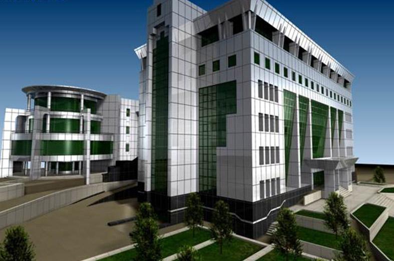 وزارت نیرو ساختمان مرکزی کرج